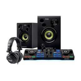 HERCULES Mischpult DJ Starter Kit (Schwarz)