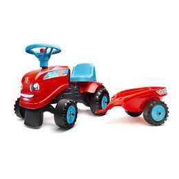 FALK Tret- und Rutschfahrzeug Tractor Go (Rot, Blau)