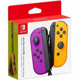 NINTENDO Joy-Con Duo Gamepad (Orange, Violett)