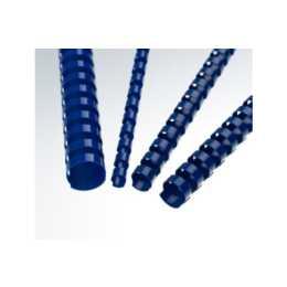RENZ Plastikbinderücken 8mm, A4, 21 Ringe, 100 Stück