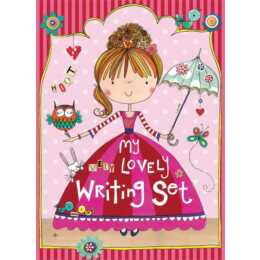 RACHEL ELLEN Set carta da lettere Lovely Princess