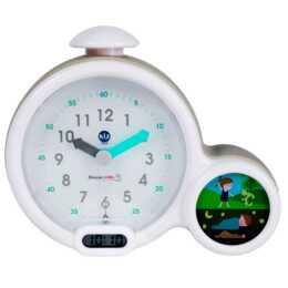 "PABOBO KidSleep ""Clock""  (Weiss, Grau, Kinderwecker)"