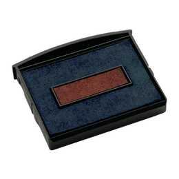 COLOP Cuscinetto per timbro Nero Rosso (2 pezzo)