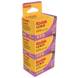 KODAK Gold 200 Analogfilm, 135 (35 mm), 36 Schüsse