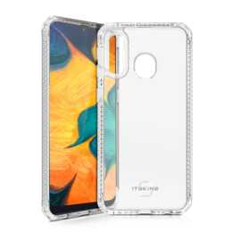 ITSKINS Backcover Hybrid Clear (Galaxy A40, Transparent)