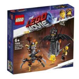 LEGO The Movie 2 Batman pronto alla battaglia e Barbacciaio (70836)