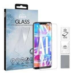 EIGER Verre de protection d'écran Glass (Hautement transparent, Mate 20 Lite)