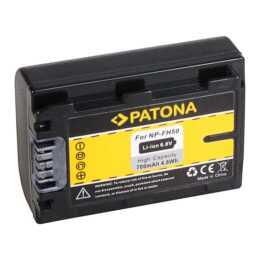Batteria PATONA per Sony NP-FH50