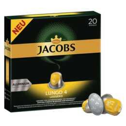 JACOBS Capsules de Café Lungo 4 Leggero