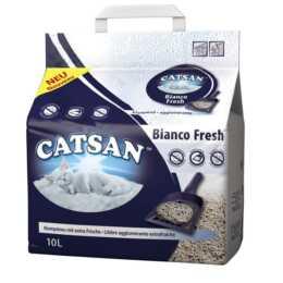 CATSAN Cucciolata per gatti Bianco Fresca 1