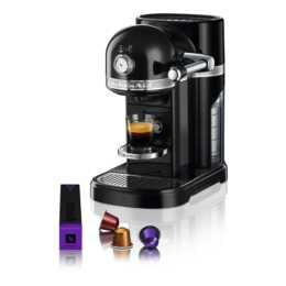 KITCHENAID Artisan 5KES0503SOB/8 (Nespresso, Onyx Schwarz)