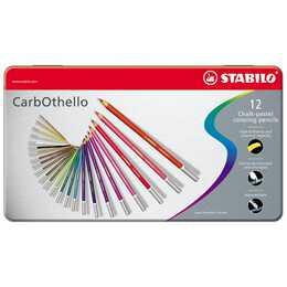 STABILO Pastellkreide CarbOthello (15 Stück)