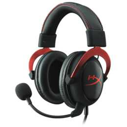 HYPERX Cloud II (Over-Ear, Rot, Schwarz)