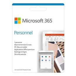 MICROSOFT 365 Personnel (Licence, 1x, 1 année, Français)