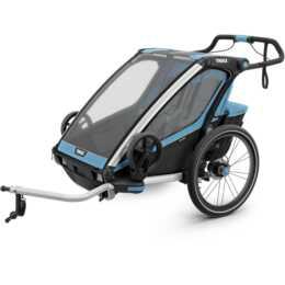 THULE Fahrradanhänger Chariot Sport 2 (Blau, Schwarz)