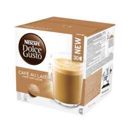 NESCAFÉ Capsules de Café Dolce Gusto Caffè latte (30 Pièce)