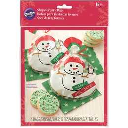 WILTON INDUSTRIES, sachet de bonbons bonhomme de neige, 20 pcs.