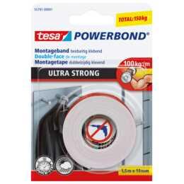 TESA SE Ruban adhésif / Ruban isolant Powerbond (1 Pièce)