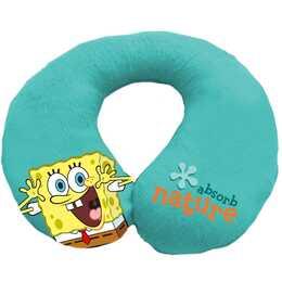 EURASIA Spongebob Kopf- & Nackenkissen (Blau)