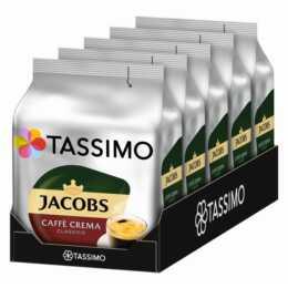 TASSIMO Kaffeekapseln Caffè Crema Classico Jacobs (5x 16 Stück)