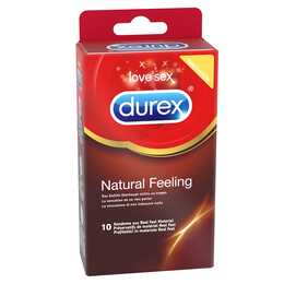 DUREX Kondome Natural Feeling latexfrei (10 Stk.)