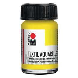 MARABU Textilfarbe Aquarelle (15 ml, Gelb)