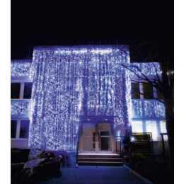 STAR TRADING Lichtervorhang System LED (1 x 4 m)