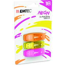 EMTEC INTERNATIONAL C410 Trio (16 GB, USB 2.0 Tipo-A)