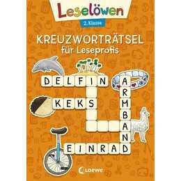 Kreuzworträtsel für Leseprofis - 2. Klasse