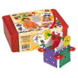 FEUCHTMANN Bausteine Plastik Geo Set Maxi