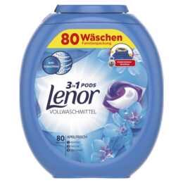 Capsule detergenti LENOR 3 in 1 Cialde, 80 pezzi