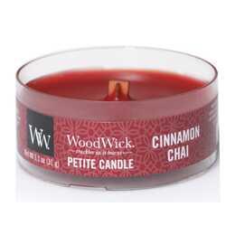 WOODWICK Cinnamon Chai Duftkerze (Zimt, Vanille)