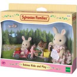 SYLVANIAN FAMILIES Babies Fahr und Spiel-Set