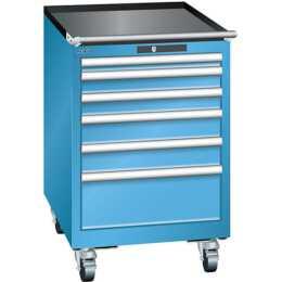 LISTA Schubladenschrank (Blau)