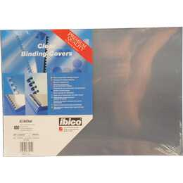 GBC Deckblatt & -folie HiClear A3 (Transparent, 100 Stück)