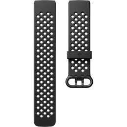 FITBIT Charge 3 Access Sport Band (S) Black