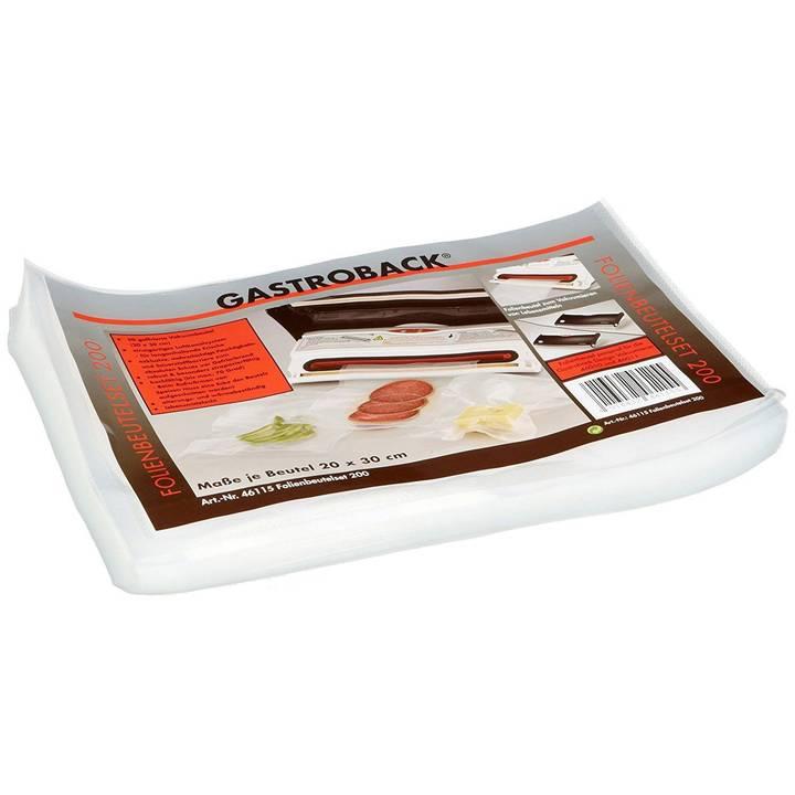 GASTROBACK sac sous vide 30 x 20 cm, 50 pièces
