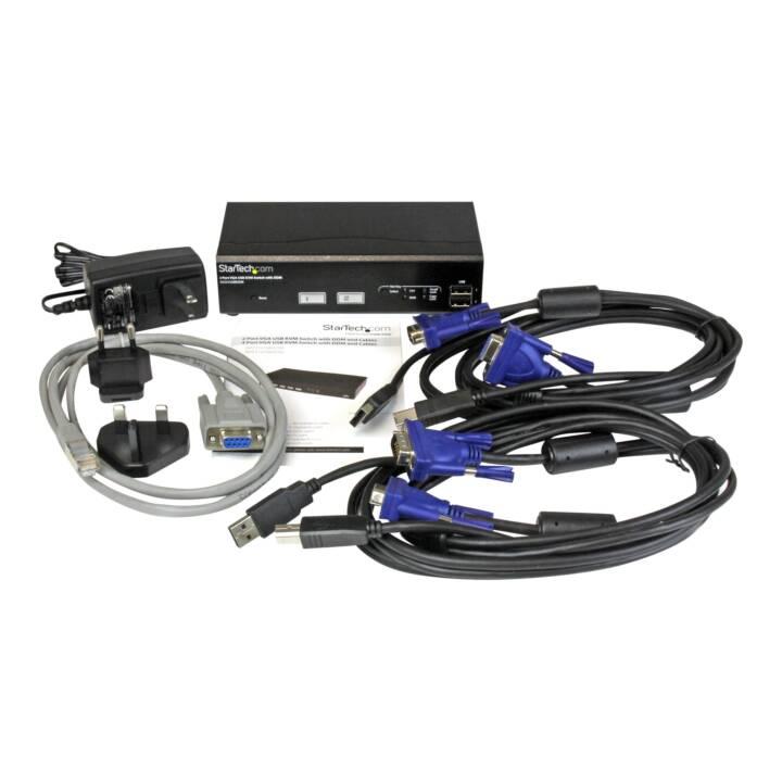 STARTECH.COM KVM-/USB-Switch (2 Anschlüsse)