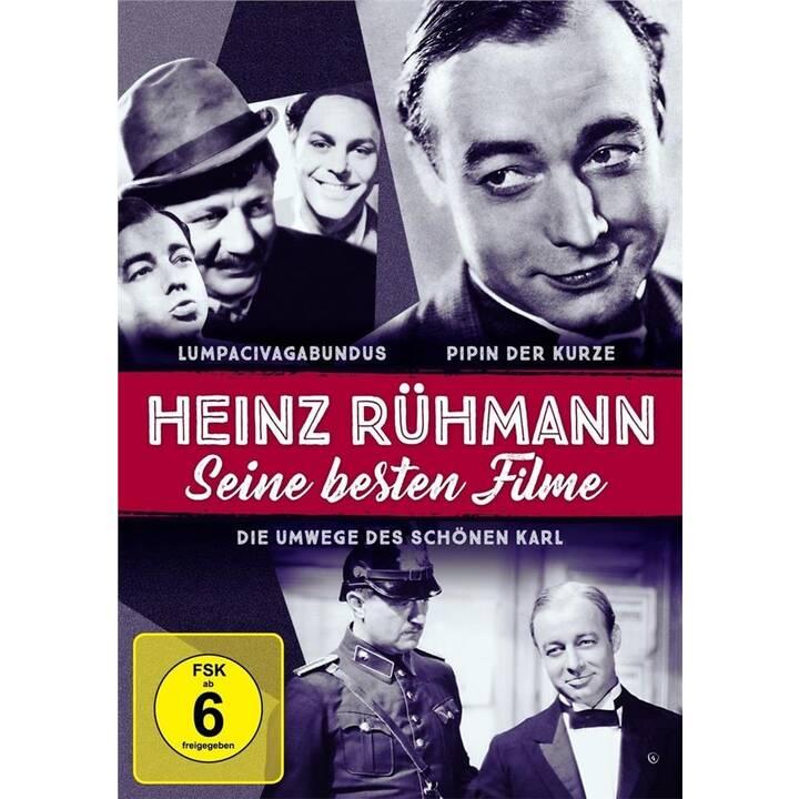 Heinz Rühmann: Seine besten Filme - Lumpacivagabundus / Pipin der Kurze / Die Umwege des schönen Karl (DE)