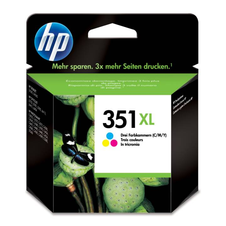 HP 351XL Cartouche d'encre tricolore