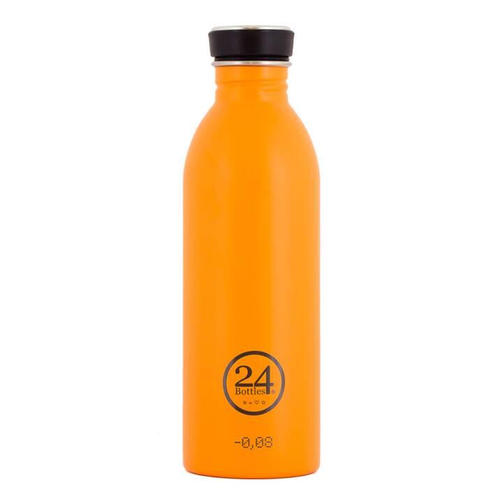 24BOTTLES Trinkflasche Urban (0.5 l, Orange)