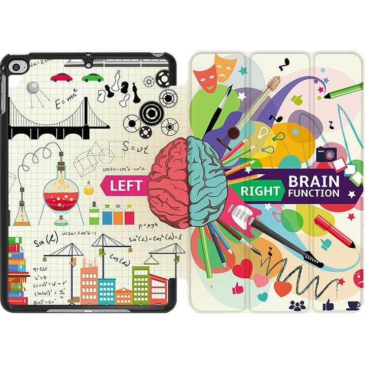 EG MTT Coque pour iPad Mini 4 (2015) et Mini 5 (2019) - cerveau créatif