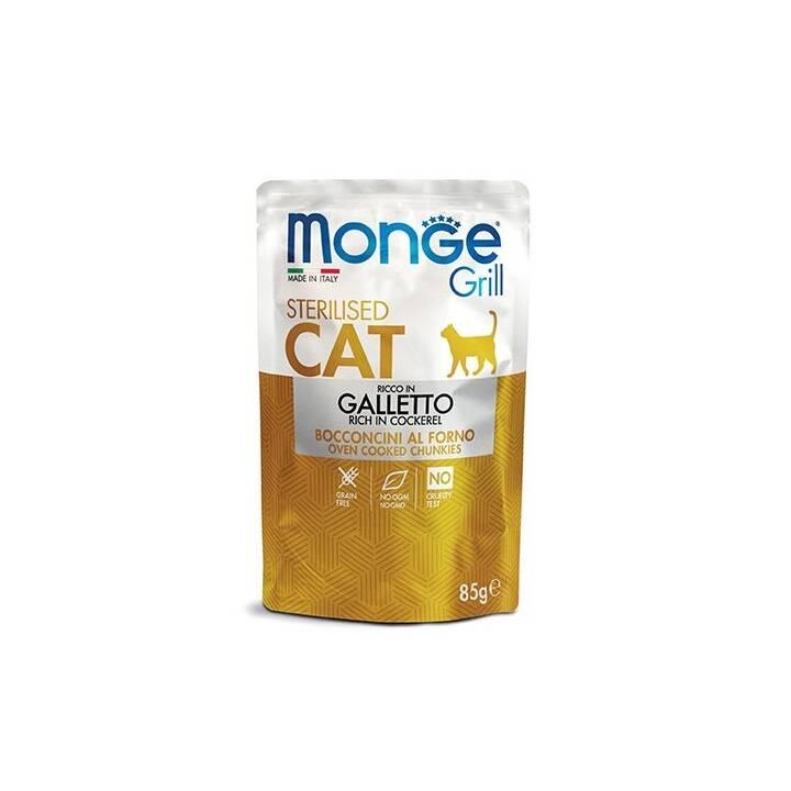 MONGE Grill (Adulto, 85 g, Pollame)