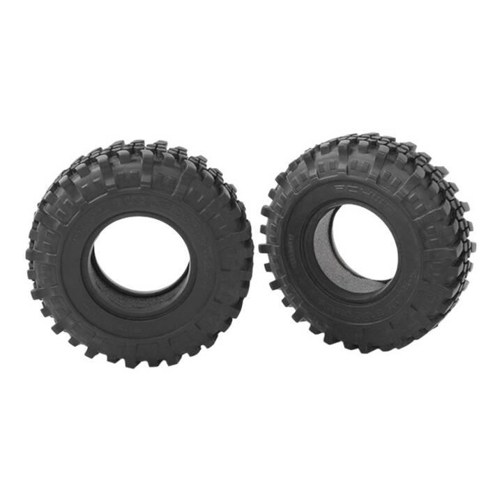 "RC4WD Trail Buster 1.9"", nero, 2 pezzi"