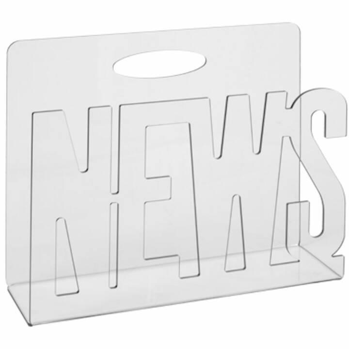 LIVIQUE News Wandfach (Transparent)