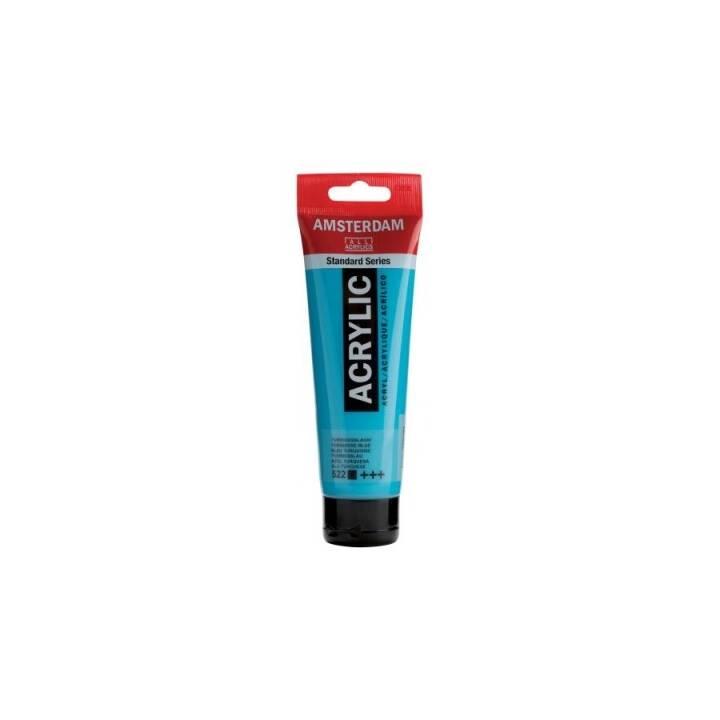 TALENS Acrylfarbe Amsterdam (120 ml, Blau)