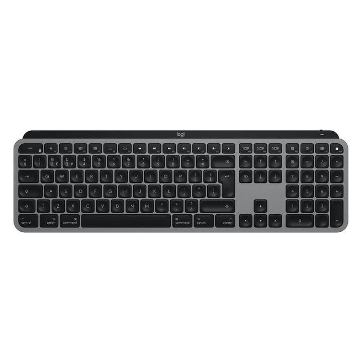 LOGITECH Master MX Keys for Mac (USB, Schweiz, Bluetooth)