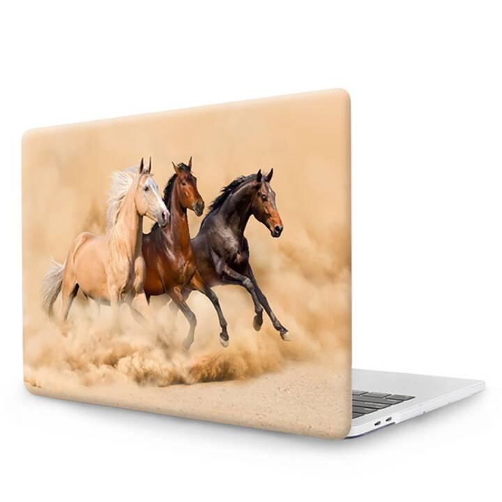 "EG MTT Cover pour MacBook Pro 13"" CD ROM - Chevaux"