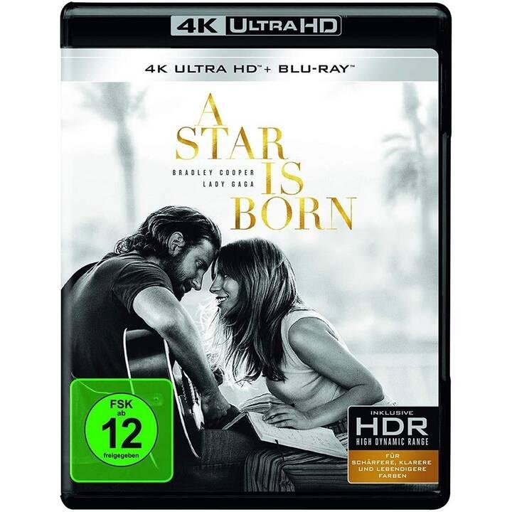 A Star Is Born (4K Ultra HD, PL, ES, IT, DE, EN, CS)