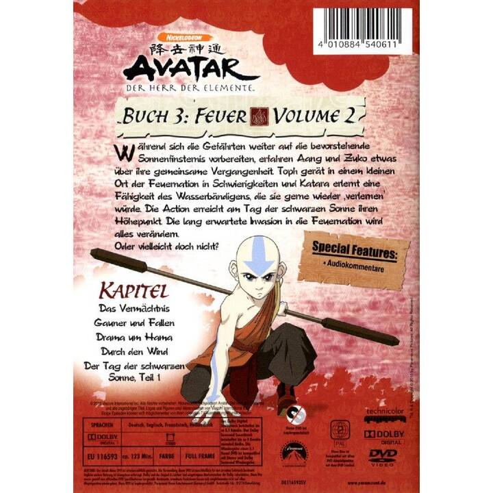 Avatar - Der Herr der Elemente  Vol. 2 (NL, DE, EN, FR)